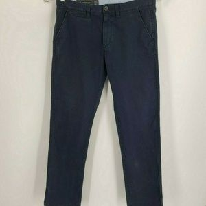 Armani Exchange 100% Cotton Relaxed Straight Chino